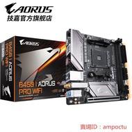 現貨技嘉 B450 I AORUS PRO WIFI 臺式機電腦游戲主板 AM4接口迷你板