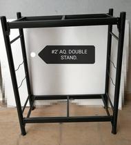 Aquarium Double Stand for 2 Feet Tank Fish