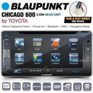 BLAUPUNKT Chicago 600 200mm Toyota 2 DIN CD GPS Car DVD Player Stereo Headunit