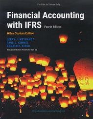 Financial Accounting with IFRS Wiley Custom Edition, 4/e (Paperback)