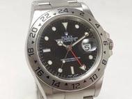 黃忠政名錶交流 勞力士 Rolex Explorer 2 16570 黑探二