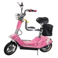 電動腳踏車 小公主迷你折疊電動腳踏車女士小型車超輕便攜代步車滑板車電瓶車