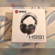 Msi H991電競耳麥🎧