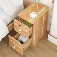 床頭櫃 小床頭櫃超窄 20-25-30-35cm床邊簡約現代迷你儲物小型櫃子仿實木