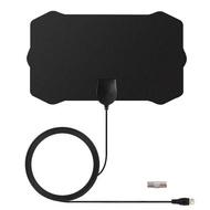 電視天線室內數字天線ebay wish歐美高清4K最新款hdtv antenna 盾形HDTV室內天線