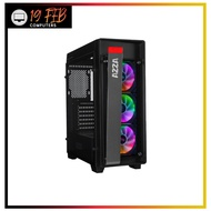 Computer Case Gaming AZZA Mid Tower Tempered Glass RGB Gaming Case Obsidian 270 - Black