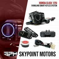 IGNITION SWITCH WITH ALARM / SMART KEY FOR HONDA CLICK 125i (9803-413)