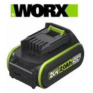 【WORX 威克士】20V鋰電池2.0Ah-綠(WA3593)
