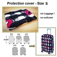 ผ้ากันเปื้อน ผ้ากันเปื้อนผ้ากันเปื้อนกระเป๋าเดินทางที่ทนทานป้องกันฝุ่นสำหรับกระเป๋าเดินทาง 18 - 20 นิ้ว อุปกรณ์เสริมการเดินทาง(style: NUMBER-S) - intl