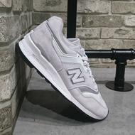 New Balance M997LBG 手工鞋 魔鬼氈 全白 白紅 白黑 情侶鞋