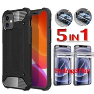 iPhone 12 pro Armor Case iphone 12 pro Max glass Screen Protector Shockproof Protective Cover Apple 12 mini iphone12 pro Case