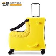 เด็กสามารถนั่งรถเข็น24นิ้วล้อสากลกระเป๋าเดินทางเด็กขี่การ์ตูนน่ารักกระเป๋าเดินทาง
