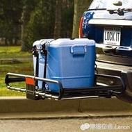 行李架 拖贏汽車車尾行李框筐拖車杠自行車行李架方口後拖架越野改裝igo