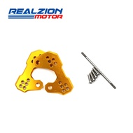 REALZION Elevated Pedal Accessories Foot Back Shift Half Group For Yamaha R3 R25 MT03 MT25