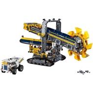 LEGO樂高積木 Technic LT42055 巨型滾輪挖土機