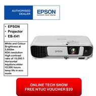 Epson EB X41 Business Projector (Free $20 NTUC voucher till 30/08/2020 , Online REDEMPTION by 14/09/2020) Epson EB X41 EBX41 eb-x41