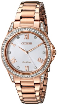 Drive From Citizen Eco-Drive Women's Watch with Crystal Accents, EM0233-51A