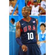 NBA球衣 美國隊奧運會球衣 夢八#10號 KOBE BRYRNT柯比 科比 刺繡 夢之隊籃球衣 深藍