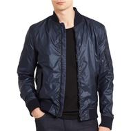 Calvin Klein 凱文克萊CK-41F2563  男生外套 防風夾克 飛行夾克 合身版型 深藍色 現貨