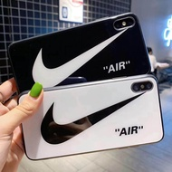 Glass Case for  Apple iPhone 7/7P ,8/8P ,X/XS ,XS Max NIKE / AD Design
