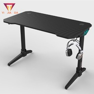 🔥RGB gaming table with lamp Meja permainan electric computer table and chair set home office laptop table 113cm