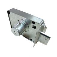 LJ003 BIRD 不鏽鋼四段鎖 四段鎖 工字型鑰匙 白鐵單開 連體式四段鎖(隱藏式門鎖 大門鎖 防盜鎖 台灣製)