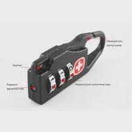 ล็อคกุญแจกลางแจ้งกระเป๋าเดินทางกระเป๋าเป้สะพายหลังกระเป๋าถือปลอดภัยป้องกันการโจรกรรมร...
