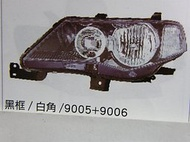中華 三菱 OUTLANDER OUT LANDER 07 08 大燈 頭燈 (白:黑框,藍框) 各車系歡迎詢問