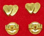 US 10K GOLD EARRINGS 10K US FANCY GOLD HYPOALLERGENIC STUD EARRINGS