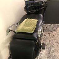 洗髮椅 洗頭椅 沖水抬 美髮器材 美髮用品 二手沖水台
