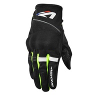 【ASTONE】KA21 (黑螢光黃) 夏季透氣觸控手套