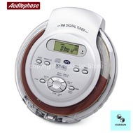 Audiophase portable CD player MP3 player Walkman CD player supports English CD