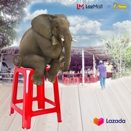 3V Strong Plastic Stool Chair (6 Units)