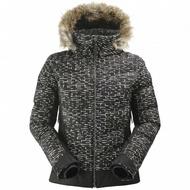 法國 EIDER x ESTHER STOCKE 聯名系列【黑白幾何世界】 女專業防水保暖毛帽外套  8EIV4434ES 黑白格