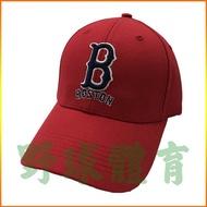 MLB 美國職棒大聯盟 可調式棒球帽 紅襪隊