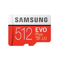 Samsung 三星 EVO Plus 512GB MicroSDXC CL10/UHS-I 記憶卡(100MB/s)