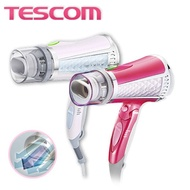 【限時優惠】 TESCOM TID960 TID960TW  白色 粉色 負離子吹風機 雙氣流風罩 公司貨 24H快速出貨 保固12個月