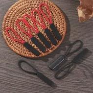 5 PCs ZipperดึงPuller End Fitเชือก: FixerสายซิปTabเปลี่ยนคลิปหักหัวเข็มขัดกระเป๋าเดินทางเต็นท์กระเป๋าเป้สะพาย...