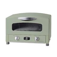 日本Sengoku Aladdin 千石阿拉丁「專利0.2秒瞬熱」多用途烤箱(內附烤盤)綠