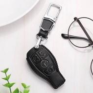 鑰匙套 適用于奔馳鑰匙套c200l真皮c260l包b200glc260c180l女gla200cla扣