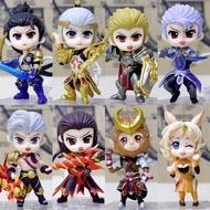 7熱賣商品王者手辦送榮耀玩具英雄人物模型周邊小公仔曹操黃忠宮本武藏亞瑟