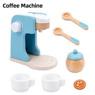 อุปกรณ์ครัวไม้เครื่องมืออุปกรณ์เครื่องเด็กบทบาทPretendของเล่นของขวัญเครื่องทำขนมปัง/กาแฟ/เครื่องปั่น/Eggbeater