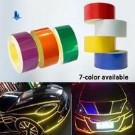 5Mx2cm Car Vehicle Body DIY Self-Adhesive Reflective Sticker Warning Strip Decal