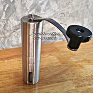 [HOT!] ที่บดกาแฟมือหมุนสแตนเลส แบบพกพา อุปกรณ์ เครื่องชงกาแฟ อุปกรณ์กาแฟ ชงกาแฟ ดริปกาแฟ กาแฟ ทำกาแฟ