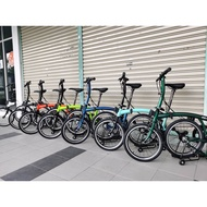 """3Sixty 16"""" Folding Bike - 6 Speed bicycle [READY STOCK] [Authorised Reseller]"""
