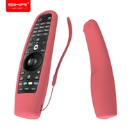 SIKAI Silicone Case For LG Smart TV AN MR600 Remote Control Cover For LG AN MR650 For LG OLED TV Mag