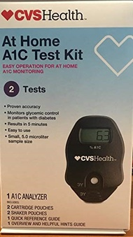▶$1 Shop Coupon◀  CVS A1C At Home Test Kit, Home Use Monitoring of Glycemic Control, Easy Operation