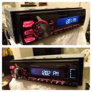 先鋒pioneer MVH X175UI無碟音響主機,已改裝成藍芽音樂主機