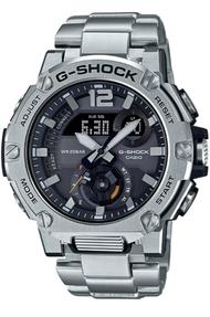 Casio G-Shock นาฬิกาข้อมือผู้ชาย สายสแตนเลส รุ่น GST-B300EGST-B300E-5A - สีเงิน