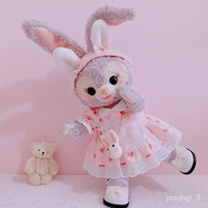 🔥X.D Plush toys OriginalinsGirlish Doll Clothes Disney StellaLou Handmade Sweet Princess Style Stella Rabbit Ears🔥 UIWi